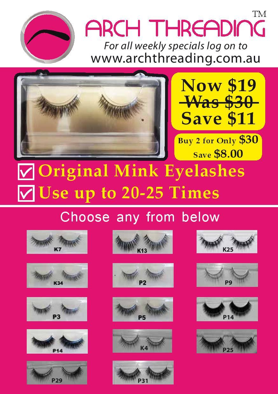 Mink Eyeleshes